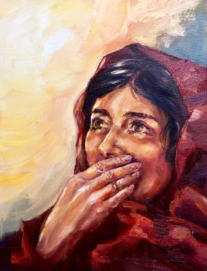 mary magdalene oil painting