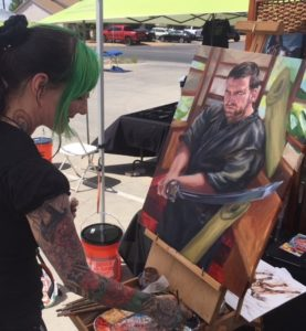 live painting demo