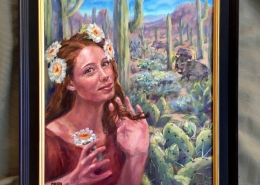 Cactus Queen2 by Ans Taylor
