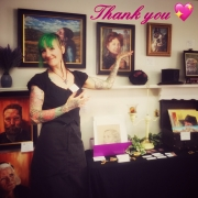 thank you for visiting me at Artist Studio Tour Prescott