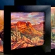 oil paintings on copper
